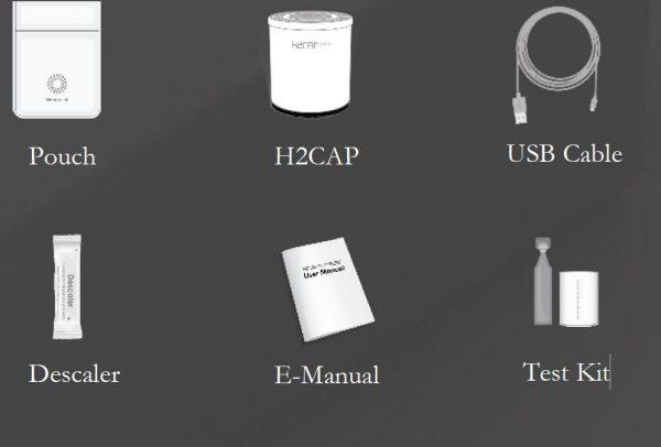 H2 CAP Lieferumfang