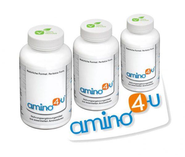 3x Amino4U Presslinge