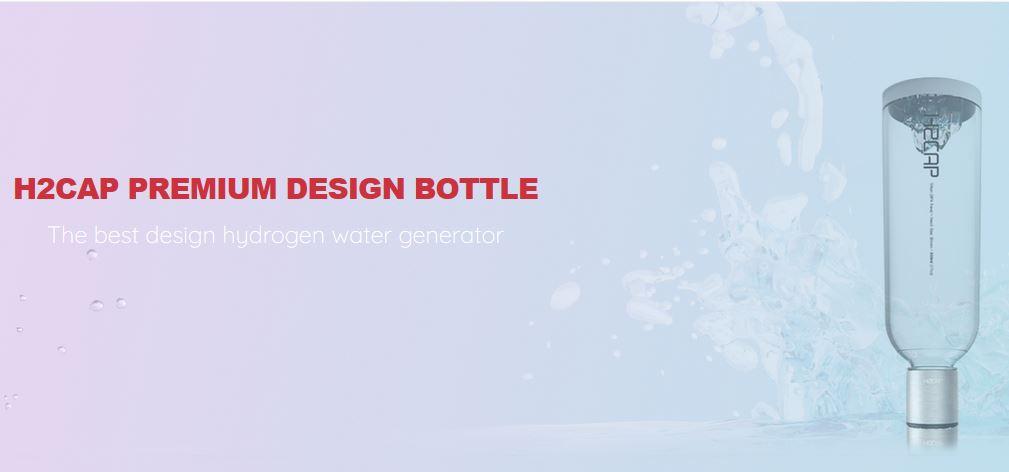 H2CAP Premium Design Tritan Flasche 28mm 0,5L